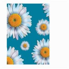 Floating Daisies Large Garden Flag (two Sides)