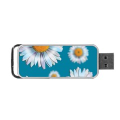Floating Daisies Portable USB Flash (One Side)