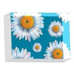 Floating Daisies 5 x 7  Acrylic Photo Blocks