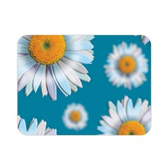 Floating Daisies Double Sided Flano Blanket (Mini)