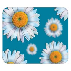 Floating Daisies Double Sided Flano Blanket (Small)
