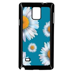 Floating Daisies Samsung Galaxy Note 4 Case (black)