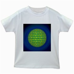 People Planet  Kids White T-Shirts