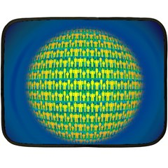 People Planet  Fleece Blanket (Mini)