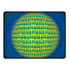 People Planet  Fleece Blanket (Small)