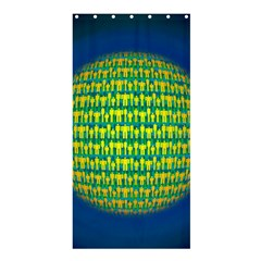 People Planet  Shower Curtain 36  x 72  (Stall)