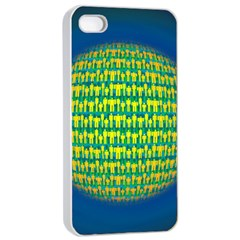 People Planet  Apple iPhone 4/4s Seamless Case (White)