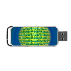 People Planet  Portable USB Flash (One Side)