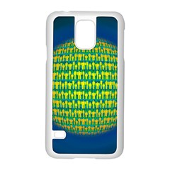 People Planet  Samsung Galaxy S5 Case (white)