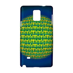 People Planet  Samsung Galaxy Note 4 Hardshell Case