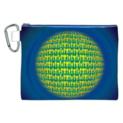 People Planet  Canvas Cosmetic Bag (XXL)