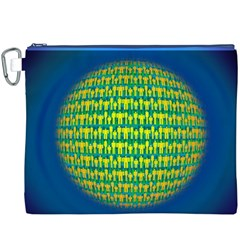 People Planet  Canvas Cosmetic Bag (xxxl)