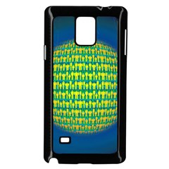 People Planet  Samsung Galaxy Note 4 Case (Black)