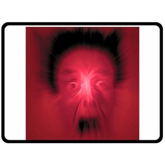 Scream Fleece Blanket (Large)