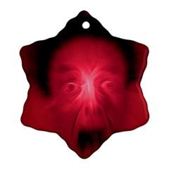 Scream Ornament (Snowflake)