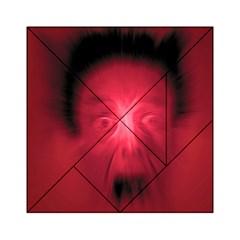 Scream Acrylic Tangram Puzzle (6  x 6 )
