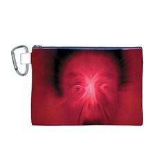 Scream Canvas Cosmetic Bag (M)