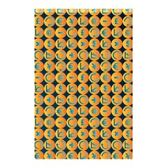 Symbols Pattern Shower Curtain 48  x 72  (Small)