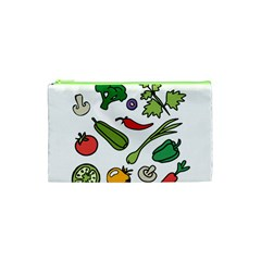 Vegetables 01 Cosmetic Bag (XS)