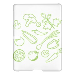 Green Vegetables Samsung Galaxy Tab S (10 5 ) Hardshell Case