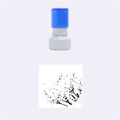 Dandelion 2015 0703 Rubber Round Stamps (Small)