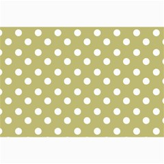 Lime Green Polka Dots Collage 12  x 18