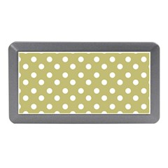Lime Green Polka Dots Memory Card Reader (mini)