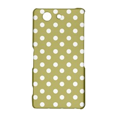 Lime Green Polka Dots Sony Xperia Z3 Compact