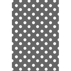 Gray Polka Dots 5 5  X 8 5  Notebooks