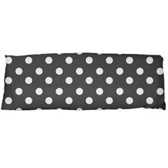 Gray Polka Dots Body Pillow Cases (dakimakura)