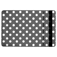 Gray Polka Dots iPad Air 2 Flip