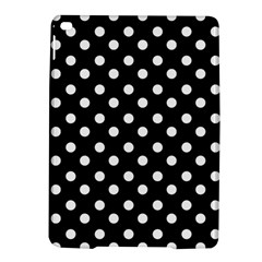 Black And White Polka Dots Ipad Air 2 Hardshell Cases