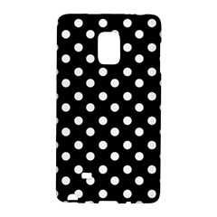 Black And White Polka Dots Galaxy Note Edge