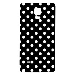 Black And White Polka Dots Galaxy Note 4 Back Case