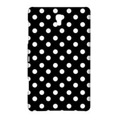 Black And White Polka Dots Samsung Galaxy Tab S (8.4 ) Hardshell Case