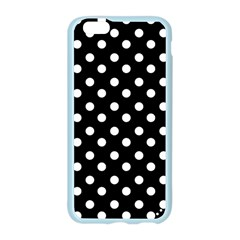 Black And White Polka Dots Apple Seamless iPhone 6 Case (Color)
