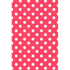Hot Pink Polka Dots 5.5  x 8.5  Notebooks