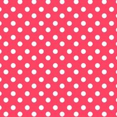 Hot Pink Polka Dots Magic Photo Cubes