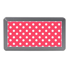 Hot Pink Polka Dots Memory Card Reader (Mini)
