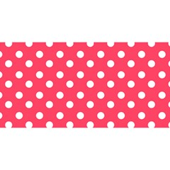 Hot Pink Polka Dots YOU ARE INVITED 3D Greeting Card (8x4)