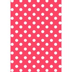 Hot Pink Polka Dots You Rock 3D Greeting Card (7x5)  Inside