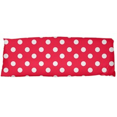 Hot Pink Polka Dots Body Pillow Cases Dakimakura (Two Sides)