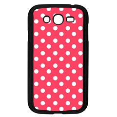 Hot Pink Polka Dots Samsung Galaxy Grand Duos I9082 Case (black)