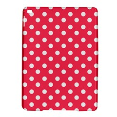 Hot Pink Polka Dots Ipad Air 2 Hardshell Cases