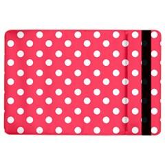 Hot Pink Polka Dots Ipad Air 2 Flip