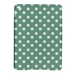 Mint Green Polka Dots Ipad Air 2 Hardshell Cases
