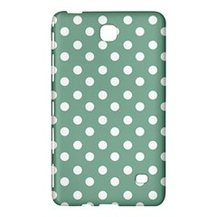 Mint Green Polka Dots Samsung Galaxy Tab 4 (7 ) Hardshell Case