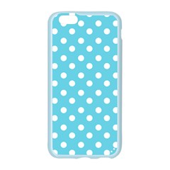 Sky Blue Polka Dots Apple Seamless iPhone 6 Case (Color)