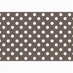 Brown And White Polka Dots Collage 12  x 18