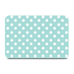 Blue And White Polka Dots Plate Mats